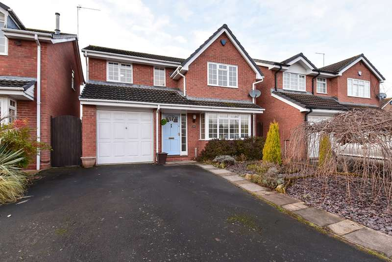 4 Bedrooms Detached House for sale in Park Way, Droitwich, WR9