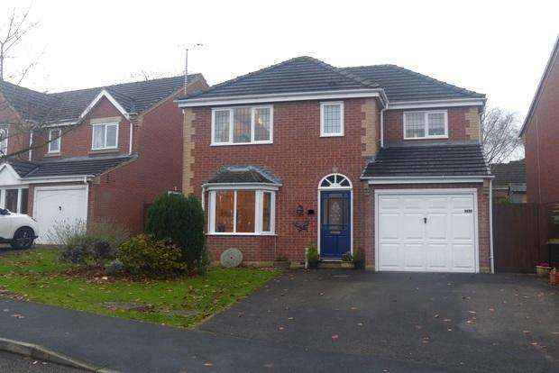 4 Bedrooms Detached House for sale in Yokecliffe Drive, Wirksworth, Matlock, DE4