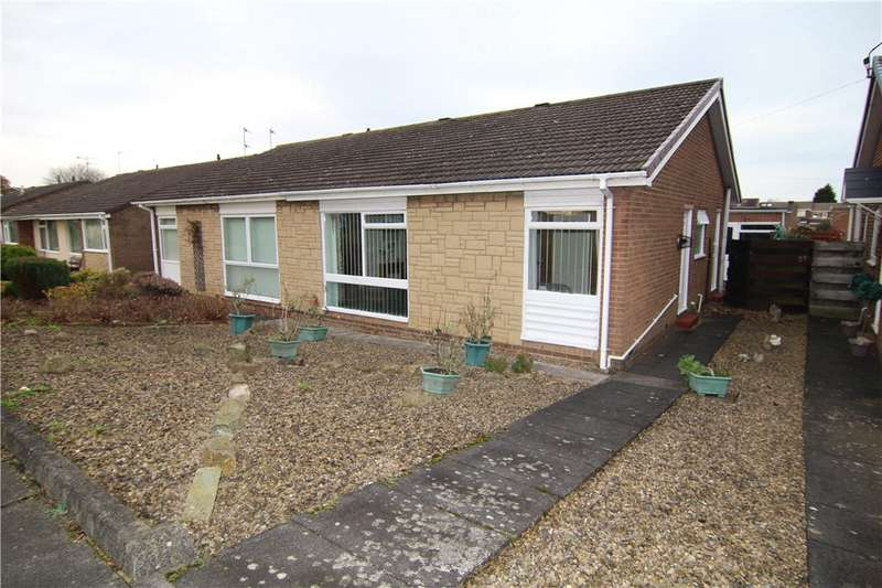 2 Bedrooms Semi Detached Bungalow for sale in Worcester Road, Newton Hall, Durham, DH1