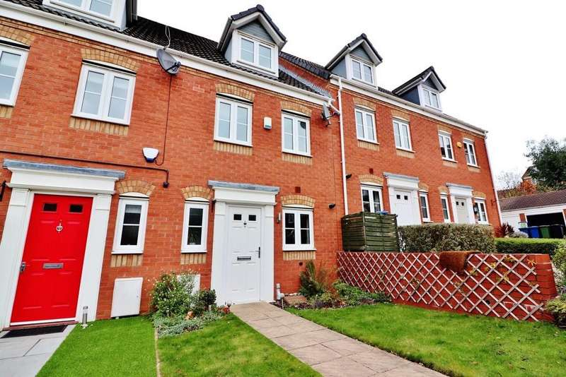 3 Bedrooms Town House for sale in Russell Close, Wilnecote