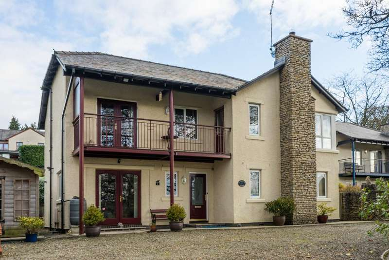 4 Bedrooms Detached House for sale in Woodcroft House, 1 Whitbarrow Grove, Levens, Kendal, Cumbria LA8 8LT