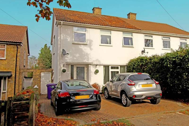 3 Bedrooms Semi Detached House for sale in Bedford Road, Letchworth Garden City, SG6