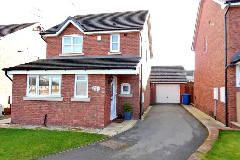 3 Bedrooms Detached House for sale in Hawthorn View, Penycae, Wrexham, LL14