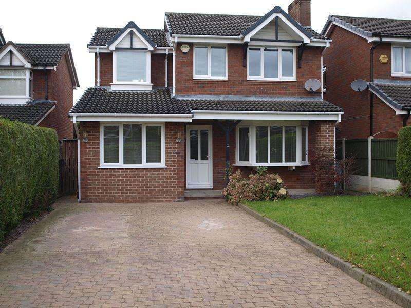 5 Bedrooms Detached House for sale in Westbury Close, Middlewich, CW10 0PR