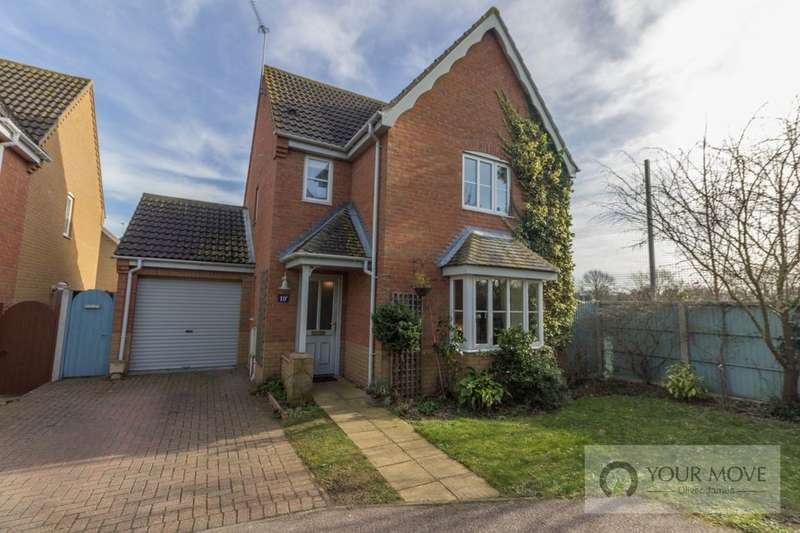 3 Bedrooms Detached House for sale in Johnson Way, Lowestoft, NR32