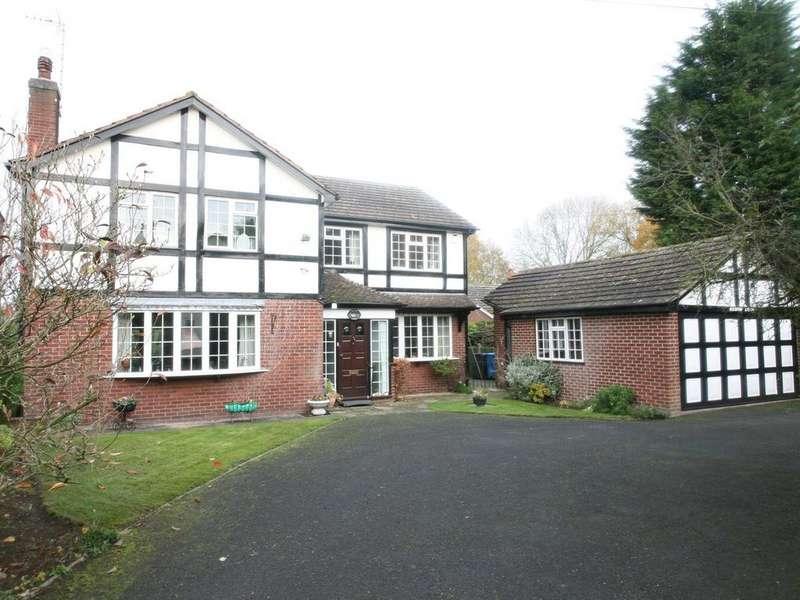 4 Bedrooms Detached House for sale in Brook Lodge, School Lane, Dunston, ST18 9AG