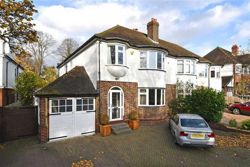 4 Bedrooms Semi Detached House for sale in Chislehurst Road, Bromley, Kent