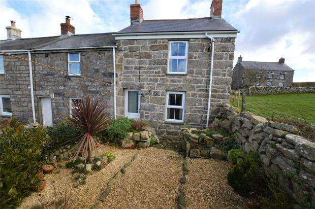 2 Bedrooms End Of Terrace House for sale in Higher Bojewyan, Pendeen, Penzance, Cornwall