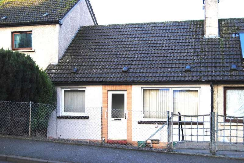 1 Bedroom Bungalow for sale in Cluny Road, Dingwall, IV15 9NT