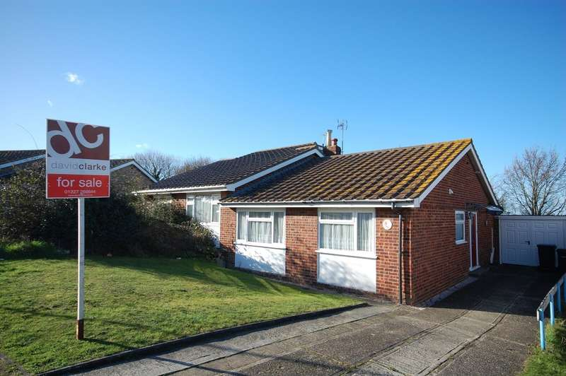 2 Bedrooms Semi Detached Bungalow for sale in Shearwater Avenue, Whitstable