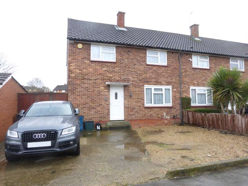 3 Bedrooms End Of Terrace House for sale in Burford Way, New Addington, CR0