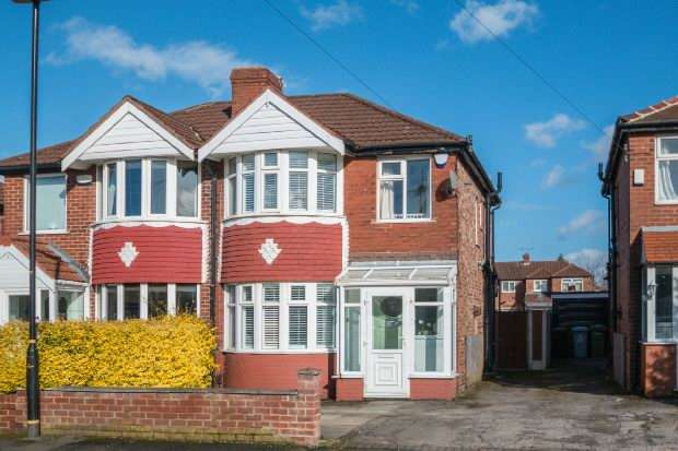 3 Bedrooms Semi Detached House for sale in Arderne Road, Timperley