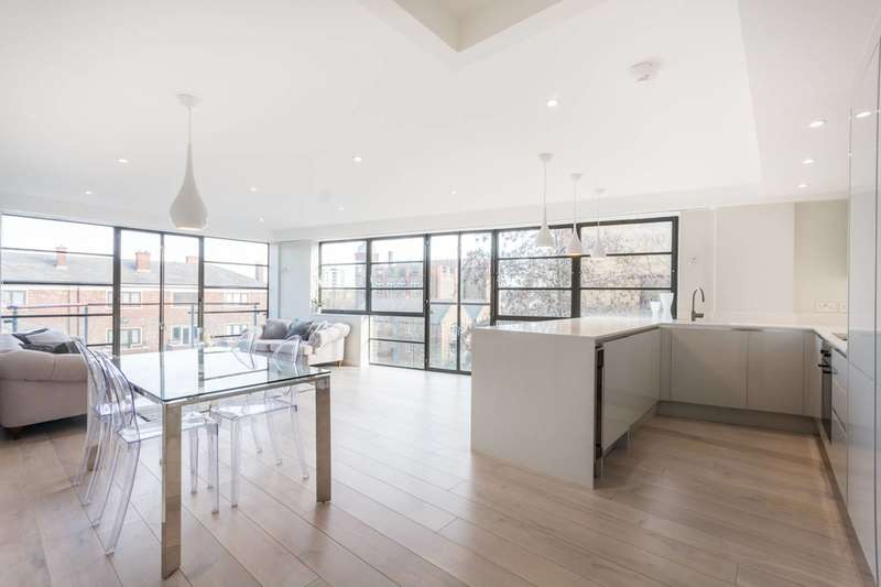 2 Bedrooms Flat for sale in Ice Wharf, New Wharf Road, Islington, N1