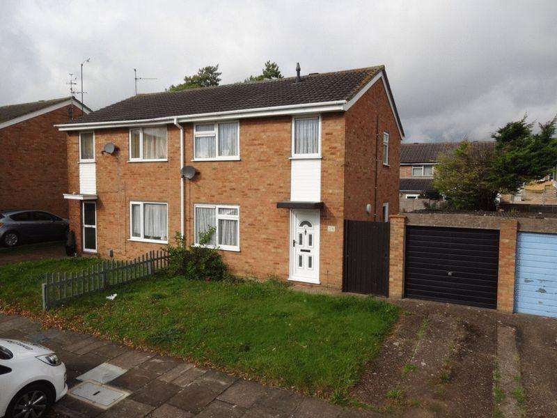 3 Bedrooms Semi Detached House for rent in Bembridge Gardens, Luton