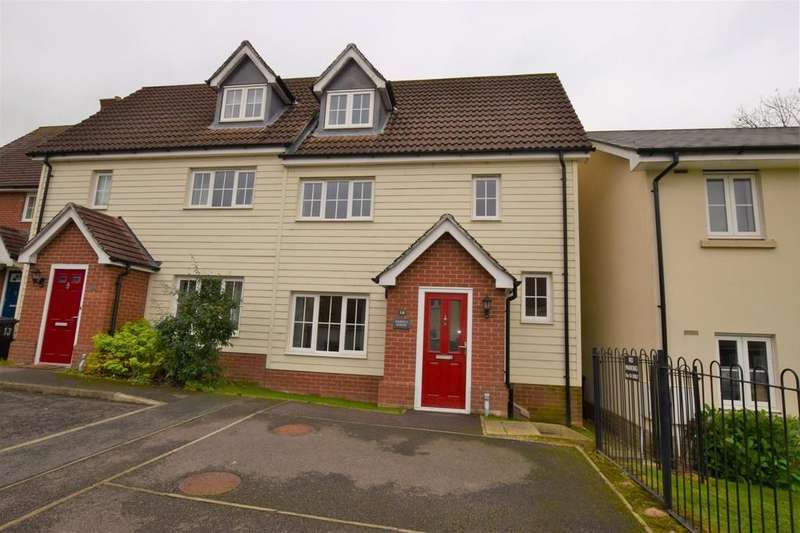 3 Bedrooms Semi Detached House for sale in Rye Hill, Sudbury CO10 2BB