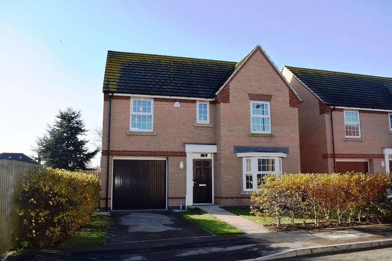 4 Bedrooms Detached House for sale in Hornbeam Drive, Healing