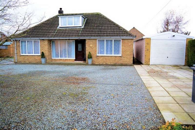 3 Bedrooms Detached Bungalow for sale in York Road, Cliffe, YO8