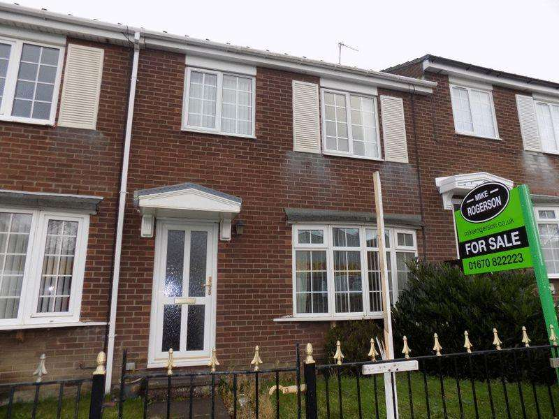 3 Bedrooms Terraced House for sale in Barrington Court, Bedlington - Three Bed Mid Link