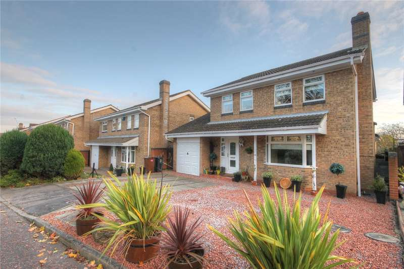 4 Bedrooms Detached House for sale in Croftside, Etherley Moor, Bishop Auckland, DL14