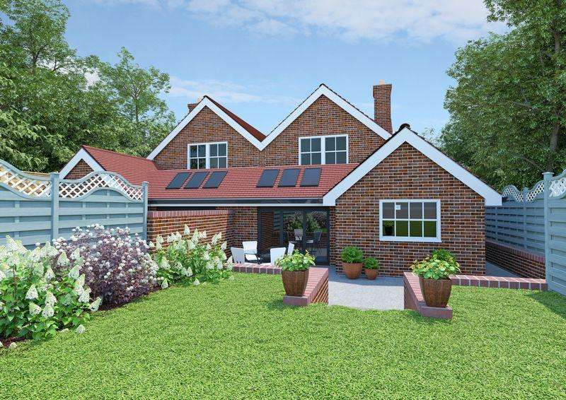 2 Bedrooms Semi Detached House for sale in Forest Road, Liss Forest, Hampshire