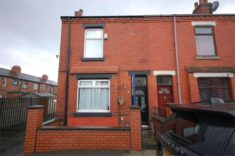 2 Bedrooms End Of Terrace House for sale in Kimberley Street, WIGAN, Lancashire