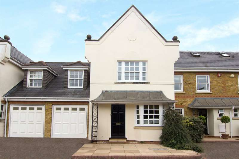 4 Bedrooms Terraced House for sale in Primrose Road, Hersham, Walton-on-Thames, Surrey, KT12