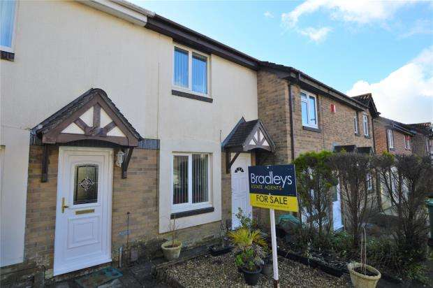 2 Bedrooms Terraced House for sale in Long Terrace Close, Plymouth, Devon
