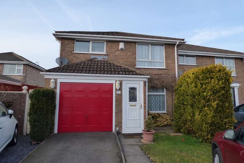 3 Bedrooms Semi Detached House for sale in Cumberland Drive, Lindley Park, Nuneaton, CV10