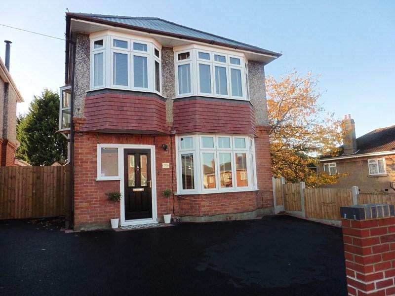 3 Bedrooms Detached House for sale in Gresham Road, Bournemouth
