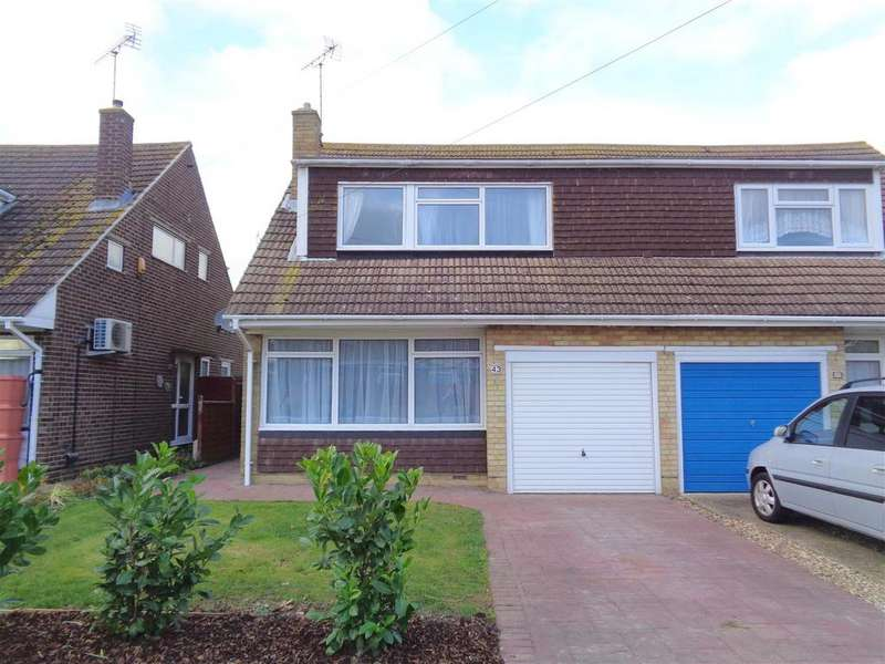 3 Bedrooms Semi Detached House for sale in Gloster Drive, Nyetimber