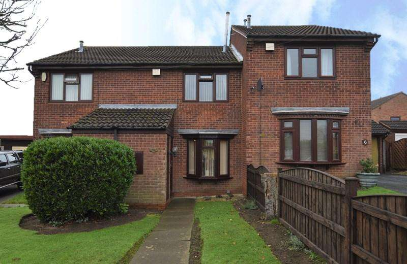 2 Bedrooms Terraced House for sale in Beeches View Avenue, Halesowen