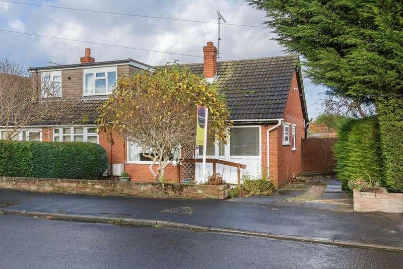 2 Bedrooms Semi Detached Bungalow for sale in Shavington, Crewe