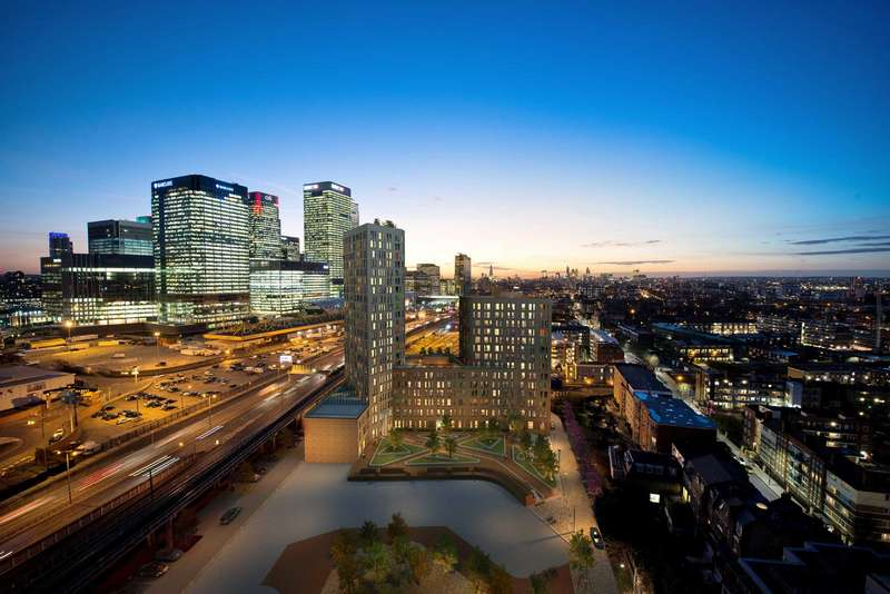 2 Bedrooms Apartment Flat for sale in Manhattan Plaza, Manhattan Tower, Canary Wharf, London, E14