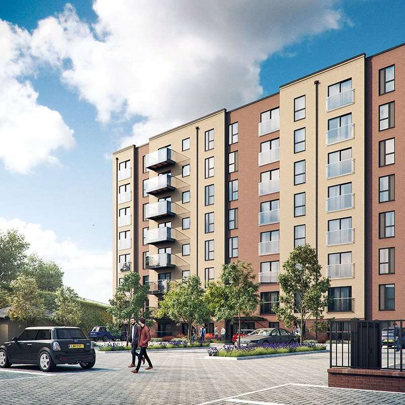 2 Bedrooms Apartment Flat for sale in Laurence Court, Saxon Square, Kimpton Road, Luton, LU2