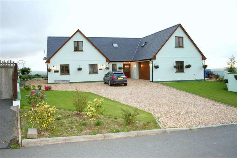 5 Bedrooms Detached House for sale in Bancyffordd, Llandysul, Carmarthenshire