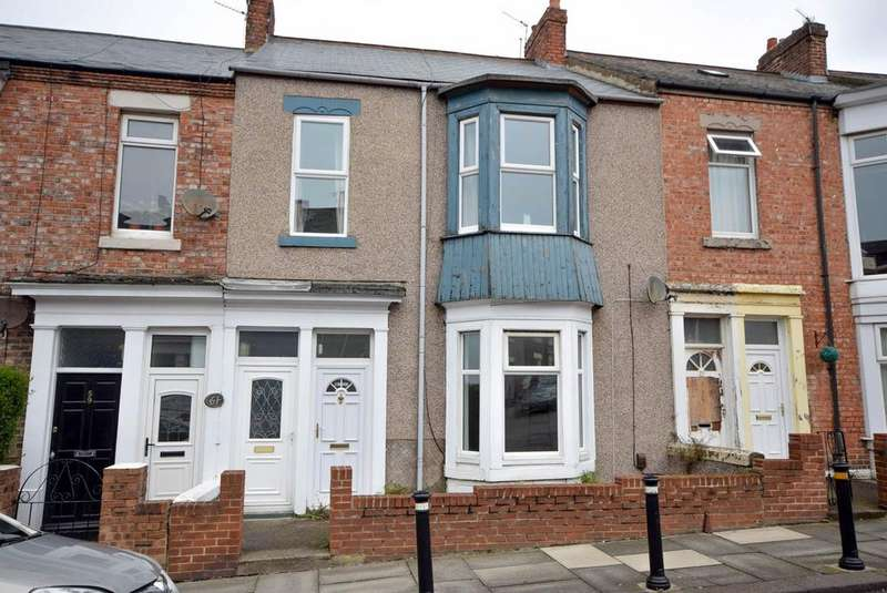 2 Bedrooms Flat for sale in Northcote Street, South Shields