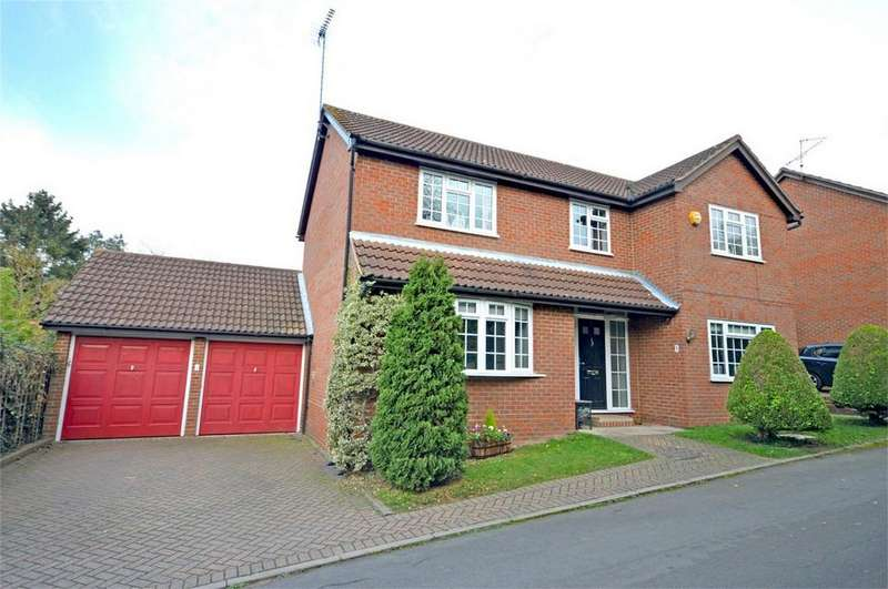 4 Bedrooms Detached House for sale in 1 Ashby Rise, Bishop's Stortford