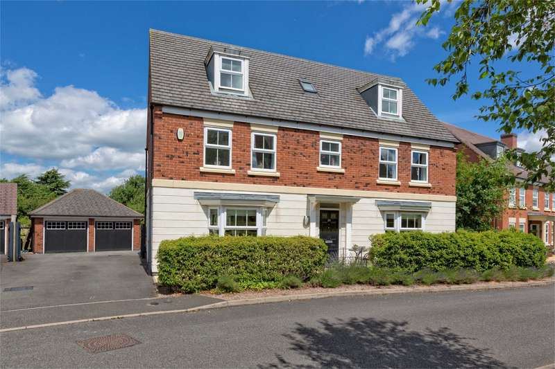 6 Bedrooms Detached House for sale in 29 Cherry Tree Close, Wellington, Telford, Shropshire, TF1
