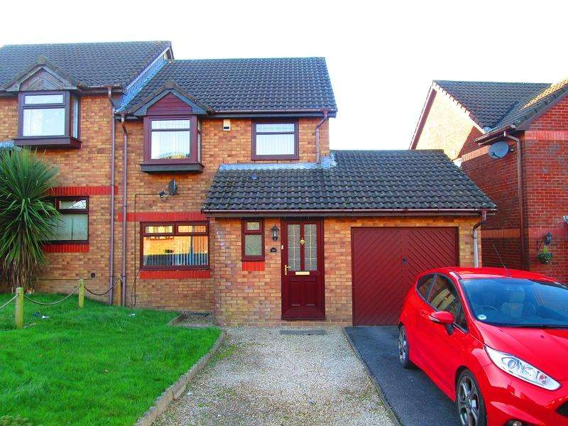 3 Bedrooms Semi Detached House for sale in Newgale Close, Penlan, Swansea, City And County of Swansea.