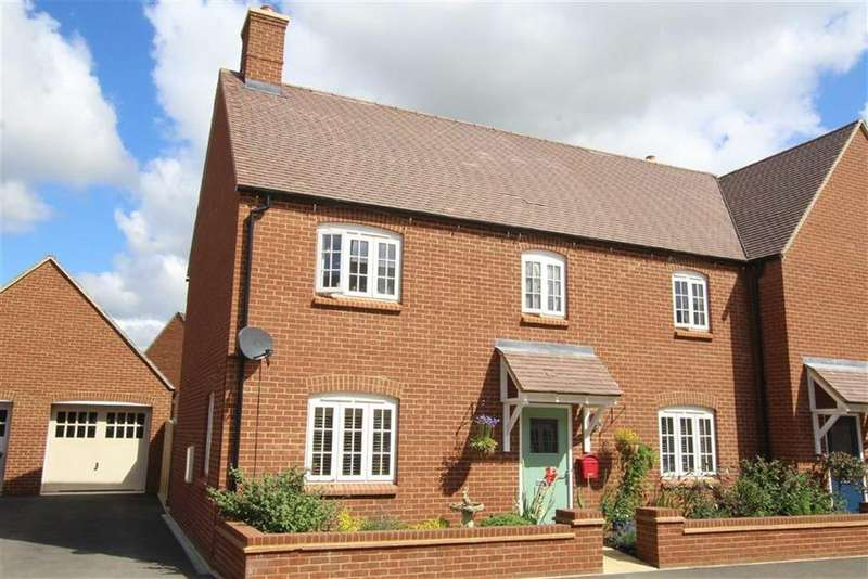 4 Bedrooms Semi Detached House for sale in 65, Orion Drive, Brackley