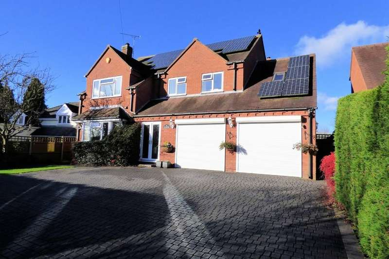 4 Bedrooms Detached House for sale in Yoxall Road, Newborough