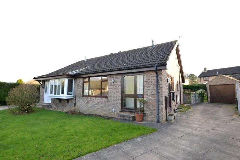 2 Bedrooms Semi Detached Bungalow for sale in Aire Road, Wetherby, West Yorkshire