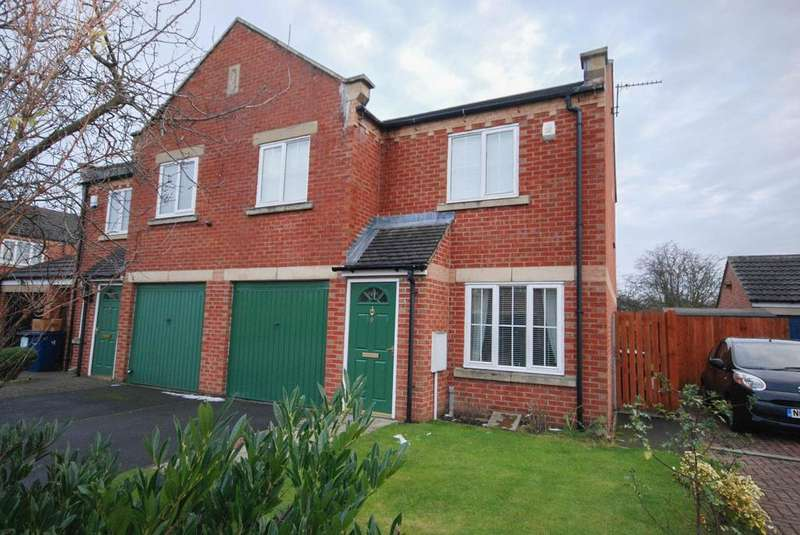 3 Bedrooms Semi Detached House for sale in Lawson Court, Boldon Colliery