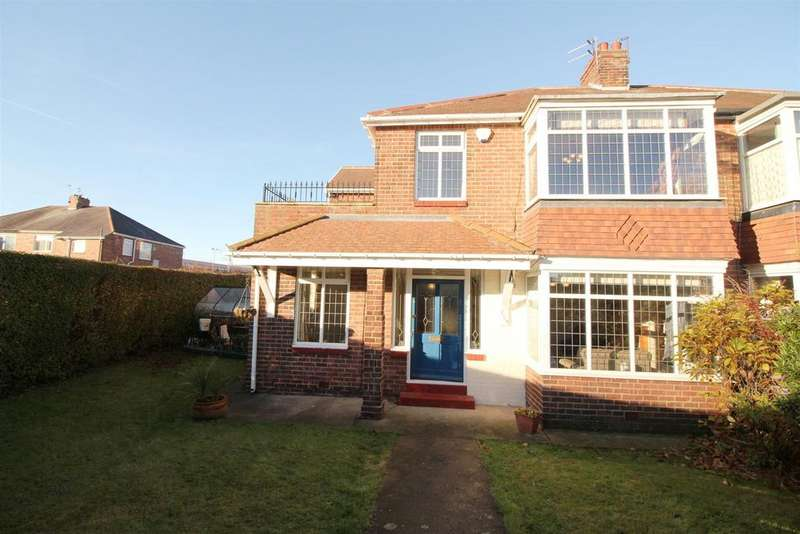 4 Bedrooms Semi Detached House for sale in Benton Road, High Heaton, Newcastle Upon Tyne