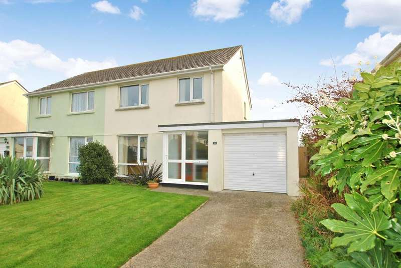 3 Bedrooms Semi Detached House for sale in Sweet Briar Crescent, Newquay