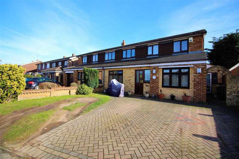 3 Bedrooms Semi Detached House for sale in Kendale, Chadwell St Mary