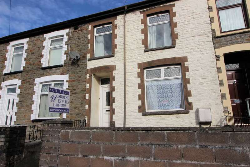 3 Bedrooms Terraced House for sale in Rhys Street, Tonypandy