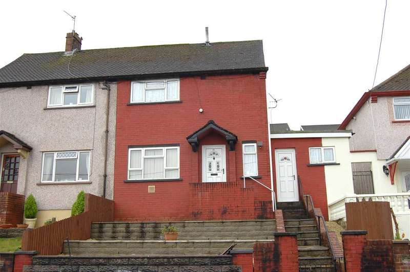 2 Bedrooms Semi Detached House for sale in Wyndham Street, Glynfach, Porth