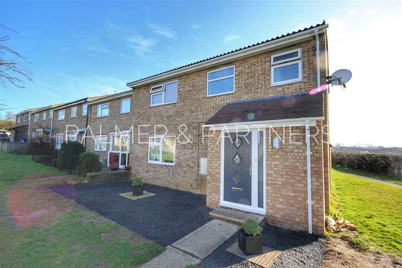 3 Bedrooms End Of Terrace House for sale in Sheepshead Hill, Great Cornard