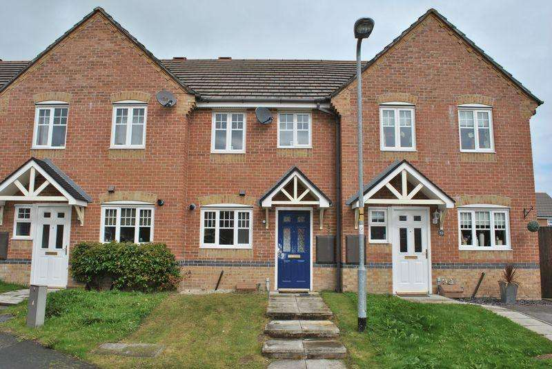 2 Bedrooms Terraced House for rent in Charles Street, Brymbo, Wrexham